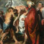 The Good Samaritan, painted around 1616 by Jacob Jordaens, a painter from my hometown Antwerp (Louvre Abu Dhabi).