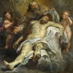 The Holy Trinity by Peter Paul Rubens (1577-1640), the most famous painter from my hometown Antwerp. Painted around 1620, it now resides in the Royal Museum of Fine Arts in Antwerp, still closed for renovation until 2025 at least.