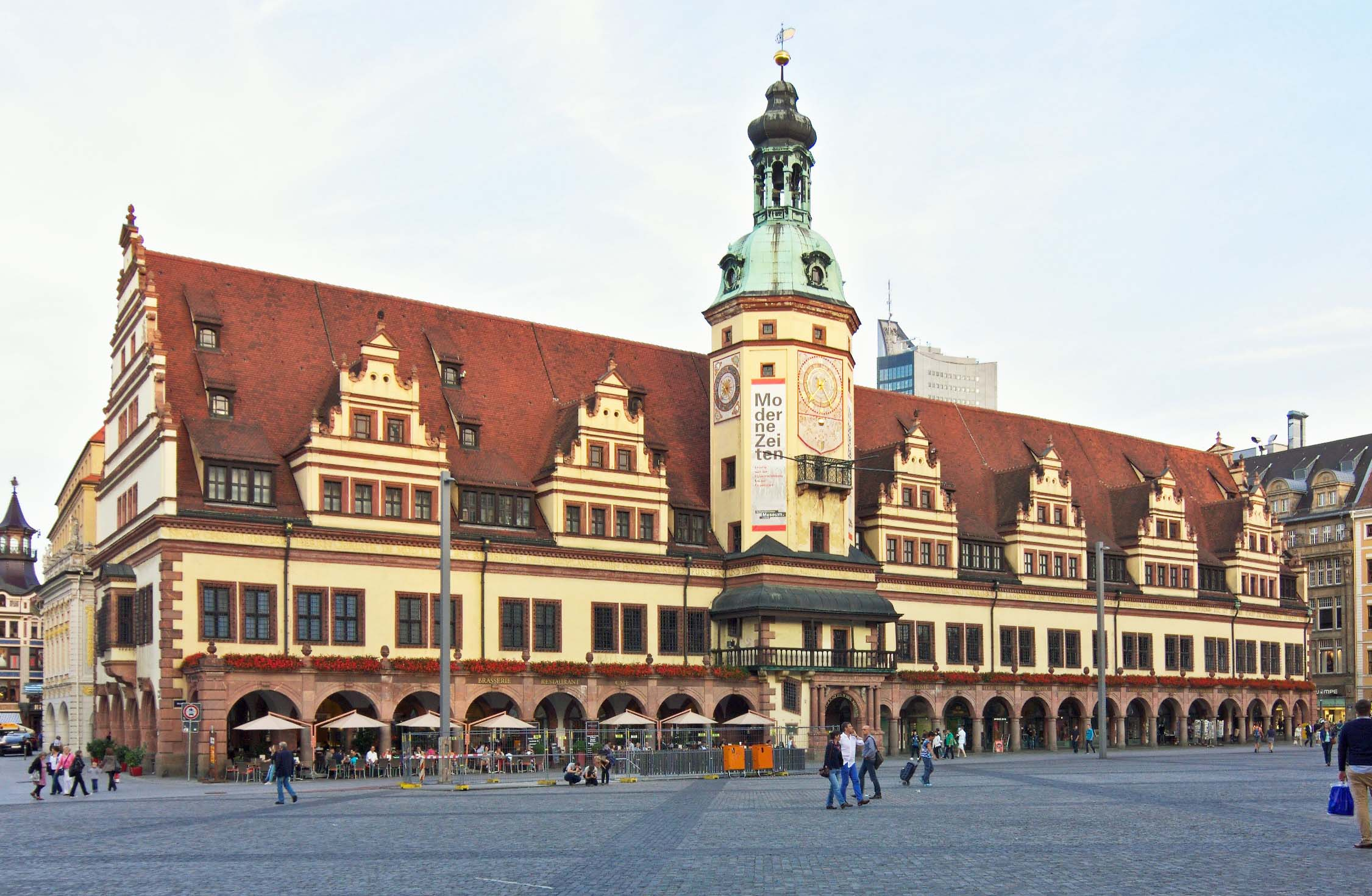 The Altes Rathaus (Old Town Hall) today, which houses the Museum of City History of Leipzig.