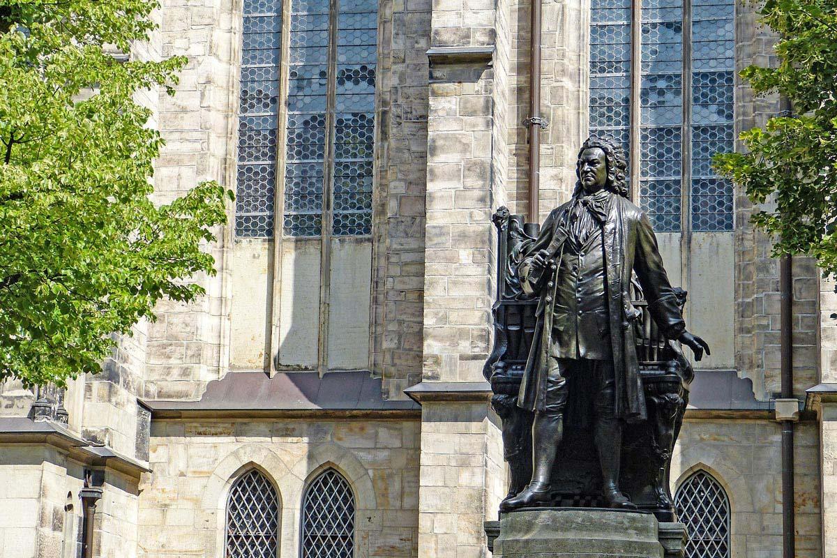Veronese Bronzed Johann Sebastian Bach Statue